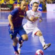 Stock Photo: Futsal match FC Barcelonvs El Pozo