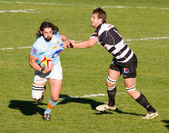 Rugby match USAP - Brive — Stockfoto