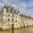 Stock Photo: Loire Castle of Chenonceaux