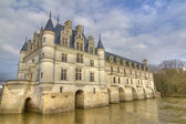 Loire Castle of Chenonceaux — Stock Photo