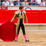 Постер, плакат: El Juli bullfighting in Barcelona