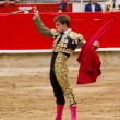 El Juli bullfighting in Barcelona — Stock Photo