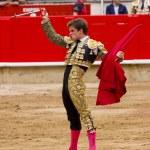El Juli bullfighting in Barcelona — Stock Photo #30586625