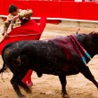 Manzanares bullfighting in Barcelona — Foto de Stock