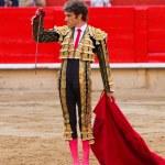 Jose Tomas bullfighting in Barcelona — Stock Photo #30589725