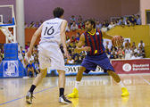 Victor Sada of FC Barcelona — Stock Photo