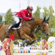 CSIO Horse Jumping Furusiyya Nations Cup — Stockfoto
