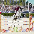 CSIO Horse Jumping Furusiyya Nations Cup — Foto Stock