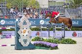 CSIO Horse Jumping Furusiyya Nations Cup — Stock Photo