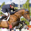 CSIO - Furusiyya FEI Nations Cup Horse Jumping Final — Stock Photo