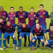 Stock Photo: FC Barcelonteam