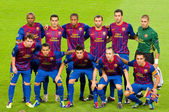FC Barcelona team — Stock Photo