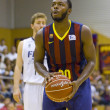 Постер, плакат: Jacob Pullen of FC Barcelona