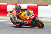 Marc Marquez racing — Stock Photo