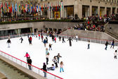 Ice rink at Rockefeller Center — Stock Photo