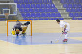 Inline hockey — Stockfoto