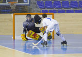 Roller hockey — Foto Stock