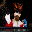 Stock Photo: Balthazar King at Biblical Magi parade