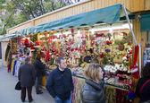 Christmas fair in Barcelona — Stock Photo