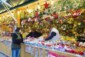 Christmas fair in Barcelona — Stock Photo