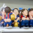 Caganers in SantLluciFair, Barcelona — Stock Photo #37071129