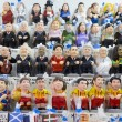 Caganers in SantLluciFair, Barcelona — Stock Photo #37071587
