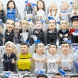 Caganers in SantLluciFair, Barcelona — Stock Photo #37072847
