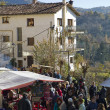 Christmas fair in Espinelves, Spain — Stock Photo