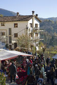 Christmas fair in Espinelves, Spain — Stock Photo