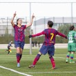 FC Barcelonwomen's football match — Stock Photo #37694281