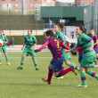 FC Barcelonwomen's football match — Stock Photo #37694665