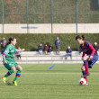 FC Barcelonwomen's football match — Stock Photo #37694933