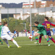 FC Barcelonwomen's football match — Stock Photo #37695435