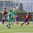FC Barcelonwomen's football match — Stock Photo #37695697