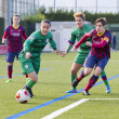 FC Barcelonwomen's football match — Stock Photo #37695833