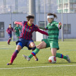 FC Barcelonwomen's football match — Stock Photo #37696477