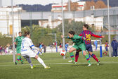 FC Barcelona women's football match — Stock Photo