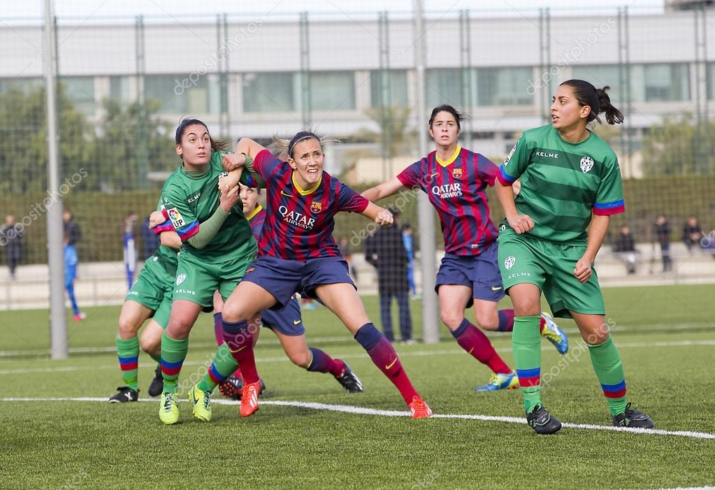 Depositphotos Stock Photo Fc Barcelona Womens Football Match Live Levante Ud
