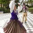 Stock Photo: Traditional dance in Cadiz