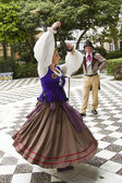 Traditional dance in Cadiz — Stock Photo