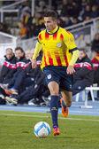 Cristian tello - katalonien-nationalmannschaft — Stockfoto