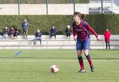 Melanie Serrano of FC Barcelona — Stock Photo