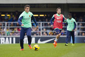 Tello at FC Barcelona training session — Stock Photo