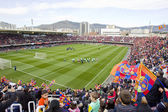 FC Barcelona Miniestadi stadium — Stock Photo