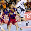 Handball match FC Barcelona vs Kiel — Stock Photo #38584683
