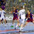 Handball match FC Barcelona vs Kiel — Stock Photo #38585119