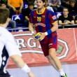 Handball match FC Barcelona vs Kiel — Stock Photo #38585571