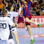 Handball match FC Barcelona vs Kiel — Stock Photo #38586011