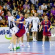 Handball match FC Barcelona vs Kiel — Stock Photo