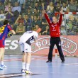 Handball match FC Barcelona vs Kiel — Stock Photo #38587235